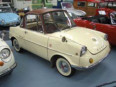 1962 Mazda Micro-Car V-Twin Cylinder Air-Fan-Cooled Engine Mazda, Strange Cars, Mini Car, Ford Anglia, Minis, Old School Cars, Hot Rod Trucks, Smart Car, Pedal Cars