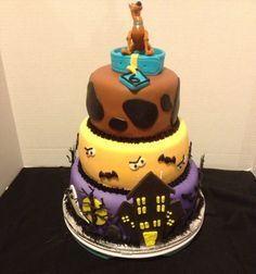 Scooby doo birthday cake                                                       …