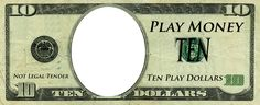 Play Money Template | Play Money Templates | Free Customizable Downloads