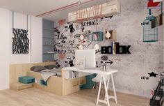 Concept Architecture, Kids Furniture, Girls Bedroom, Office Desk, Corner Desk, Interior Design, Children, Home Decor, Furniture For Kids