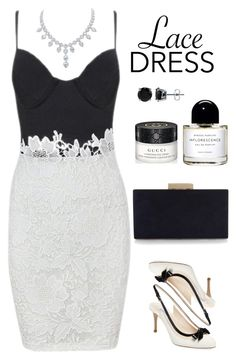 """""""Untitled #487"""" by veronica7777 ❤ liked on Polyvore featuring L.K.Bennett, Monsoon, Byredo, Gucci and BERRICLE"""