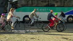 The Belgium Royals join car free Sunday in Brussels