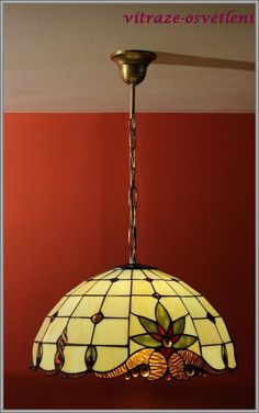 Krásný Tiffany lustr za Akční cenu 1790 Kč, p.c.2499 Kč