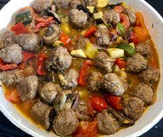 Bigos cygański z klopsikami - Blog z apetytem Beef, Food, Meat, Essen, Meals, Yemek, Eten, Steak