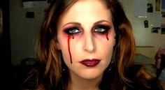 HALLOWEEN: IDEE MAKE UP idea halloween make up www.theshadeoffashion.blogspot.it