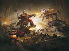 Warhammer 40000,warhammer40000, warhammer40k, warhammer 40k, ваха, сорокотысячник,фэндомы,Blood Angels,Space Marine,Adeptus Astartes,Imperium,Империум,Terminator,Tyranids,Тираниды,Terminator Squad