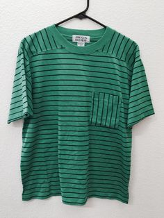 Oversized Vintage Striped T-Shirt by TheVintageValhalla on Etsy