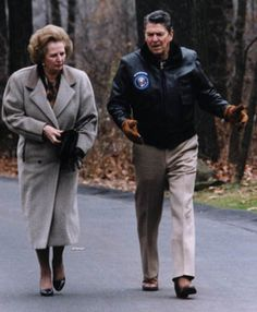 The Gipper and the Iron Lady.