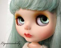 """Blythe ooak custom art doll """"Marlene"""" -  by liquiriziadolly"""