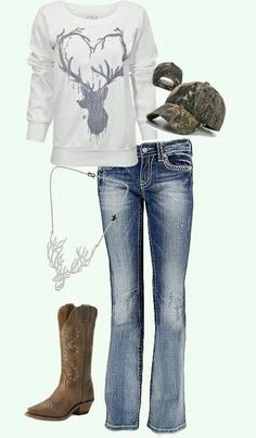 I want the jeans and sweater!!:)