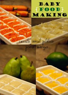 Making your own baby food is really simple, easy on the wallet, and healthy for baby :)