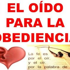 EL OÍDO PARA LA OBEDIENCIA   INTRODUCCIÓN La obediencia a Dios es una sola y es solo a El y lo que Él dice y cómo lo dice. Los falsos maestros, pastores y. http://slidehot.com/resources/el-oido-para-la-obediencia.64310/