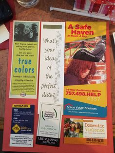 Teen Resources. Interesting idea- could be a bulletin board.
