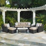 Costco Valencia Deep Seating Set by Mission Hills® Outdoor Furniture Sets, Outdoor Decor, Pool Designs, Outdoor Couch, Outdoor Rooms, Curved Pergola