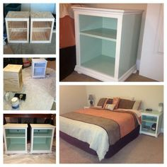 Katie Nightstand Open Shelf | Do It Yourself Home Projects from Ana White