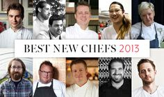 BEST NEW CHEFS Here are expert travel guides, spectacular new restaurants and some of the most innovative recipes ever from 25 years of F&W ...