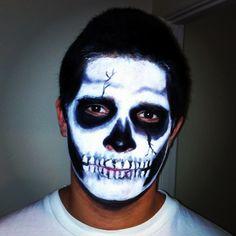 My brother's #Halloween makeup #SephoraSelfie