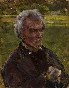 Studium starca - Aleksander Gierymski Illusions, Painting, Contemporary, Image, Art, Czech Republic, Slovenia, Impressionism, Hungary
