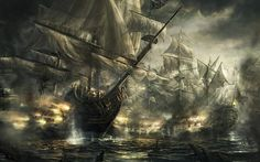 Battleships Wallpaper #5004