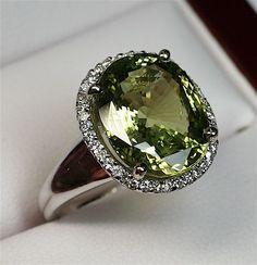 Remarkable Ladies 8.49 Carat Natural Alexandrite Ring..