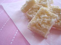 Sweetened condensed milk cocada / Cocadinha com leite condensado by Patricia Scarpin, via Flickr