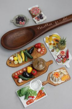 Miniature food by Stéphanie Kilgast, aka Petitplat