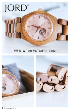 Fall in love with the bronze and blush tones in JORD's Cora timepiece! The automatic Cora series features a petite face, crystal markers, apeture dial with sapphire crystal, and skeleton back. 100% natural wood, never stained or painted. Free shipping world wide. Visit the site today to see the full line and find YOUR Jord wood watch or the perfect gift for the unique person on your holiday list this year!