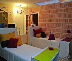 decoração com aproveitamento de espaço de hostel - Pesquisa Google