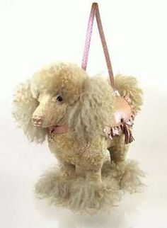 poodle purse, so real looking!