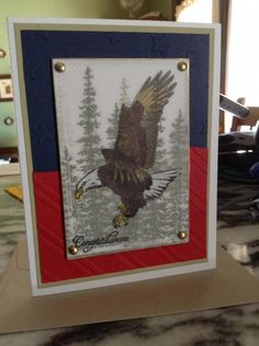 Eagle Scout Congratulations by Sassy's Sal - Cards and Paper Crafts at Splitcoaststampers