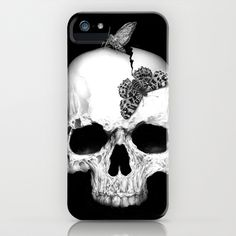 Skull and soul iPhone & iPod Case by Jordygraph - $35.00