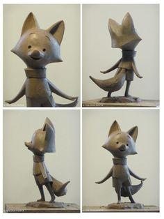 O artista Andrea Blasich publicou em seu website os recentes trabalhos que fez para o curta The Dam Keeper, de Dice Tsutsumi e Robert Kondo. Veja também o video, logo na sequência, mostrando o artista em processo de produção. Visite o site de Andrea Blasich e conheça a longa galeria de esculturas apresentada em seu portfolio. É demais!