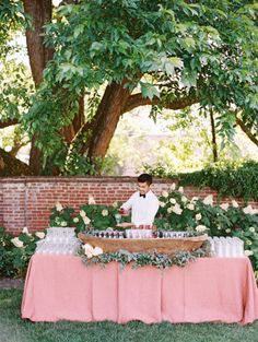 pretty in pink bar | Abby Jiu #wedding