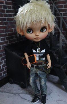 *.。・*Finney.A *・。.*男の子カスタム_画像6 Big Eyes Artist, Polymer Clay Dolls, Doll Painting, Hello Dolly, Boy Doll, Minnie, Ball Jointed Dolls, Cute Dolls, Doll Face