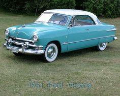 1951 Ford Victoria 2-door hardtop