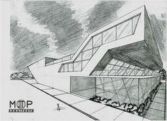 Bosquejo...  Proyecto:Tienda Departamental S-01 Arquitecto: Martin T. Piña Técnica: Lápiz - Mano alzada  #PinneappleMoments