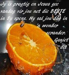 Jy is pragtig en Jesus gee vandag vir jou net die BESTE in Sy spens. Goeie More, Uplifting Quotes, Afrikaans, My Daddy, Christian Quotes, Verses, Language, Bible, Words