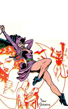 CATWOMAN by by Dave Stevens