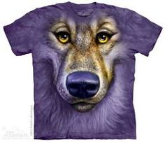 Friendly Wolf T-Shirt - Wolf T-Shirts - Big Face Wolf T-Shirts - Wolves on t-shirts - wolf shirts - beautiful wolves - animal shirts with wolves - christmas presents - ideas for christmas presents 3d T Shirts, Cool T Shirts, Three Wolf Moon, Friday T Shirt, Wolf Face, Wolf T Shirt, Big Face, Beautiful Wolves, Tshirts Online