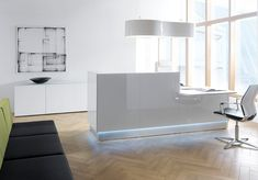 Interior Desk And Cool Office Furniture Offices Design Lovely White Reception Desk Design With Cool Curve Box Lamp Hang On Ceiling Exciting Modern Office Lobby Furniture Ideas Amazing Cool Office Desk Office Desks Neon. Past Month Past. Unique Hidden Desk. 1200x837 Pixel [Albydapress.com] Home Designs Inspiration Ideas