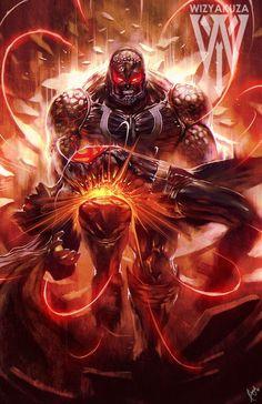 Darkseid vs Superman by Ceasar Ian Muyuela