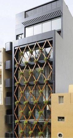 Office Building Architecture, Building Facade, Building Exterior, Facade Architecture, Office Buildings, Design Exterior, Facade Design, Modern Exterior, Building Elevation
