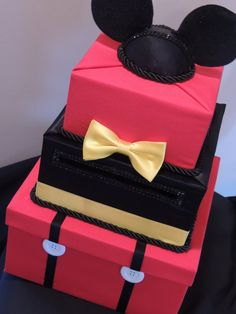 Mickey Mouse Card Box