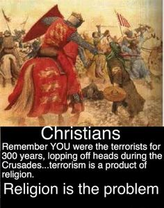 Remember when christians were the terrorists?