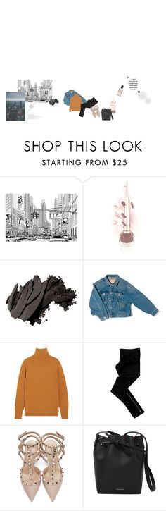 """city life"" by defyit ❤ liked on Polyvore featuring Christian Louboutin, Bobbi Brown Cosmetics, Balenciaga, Chloé, LnA, Valentino, Mansur Gavriel and Giorgio Armani"