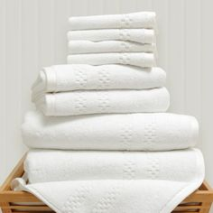 I pinned this 8 Piece Mini Squares Bath Set in White from the Linen Closet event at Joss and Main!