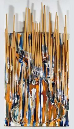 Paintbrushes & Violin - II - Arman