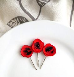 2 small bright chartreuse flower hair pins by inspiredgreetingsad 3 tiny red fabric flower poppies for hair bright poppy red hair pins floral bobbies red black lace mini clip dainty small barrette 1 mightylinksfo