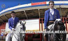 """Continuando en el estado de Chihuahua, Pablo y Guillermo se desplazan hasta la frontera norte de México para actuar en la plaza """"Alberto Balderas"""" de Ciudad Juárez."""
