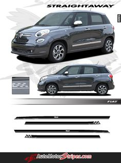 AIR FILTER AF-FIAT FOR 2014 2015 2016 FIAT 500L PACKAGE OF TWO